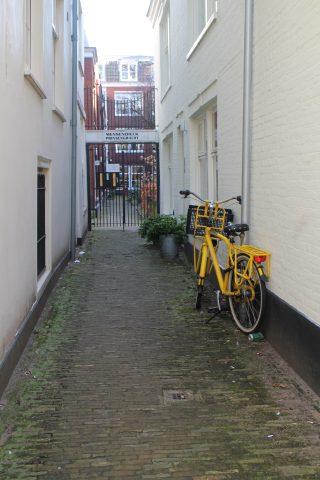 Une impasse - Amsterdam